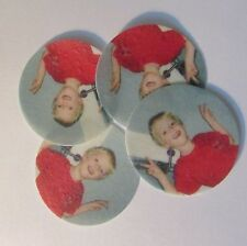 15 x 2inch Edible Personalised Cupcake Toppers Rice Card Cake Fairy