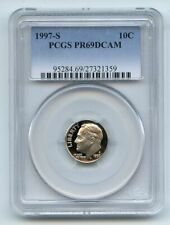 1997 S 10C Roosevelt Dime Proof PCGS PR69DCAM
