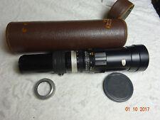 HANIMEX 400 mm F6.3 Lentille Vis Montage CY m42. S'adapte à Canon Nikon Sony etc