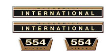 IHC Aufkleber international 554 Gold Logo Emblem Sticker Label