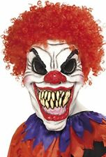 Smiffys Scary Clown Mask with Hair | | Delivery