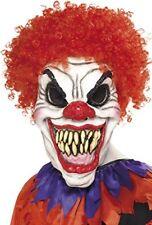 ️ Smiffys Smiffy's - Maschera da Clown Terrificante in Schiuma di Lattice tagl