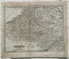 Map of the Netherlands, attractive,  1700s