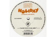 "Dizzee Rascal - Holiday Laidback Luke Remix Vinyl UK 12"""