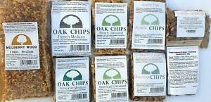 Oak chipsFrench,American,Acacia, Chestnut,oak vanilla,oak Aroneo  Caramel cherry