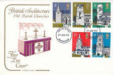 (08528) GB Cotswold PREMIER JOUR Village Eglises Birmingham 21 Juin 1972