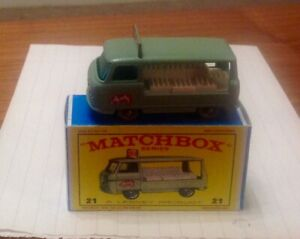 Matchbox Toys milk delivery truck 21