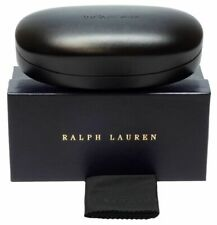 Polo Ralph Lauren New Authentic Sunglass Case in Black with Box, Cleaning Cloth