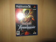PS2 SAMURAI WARRIORS 2 Xtreme Legends, UK PAL , NUOVO & Sony