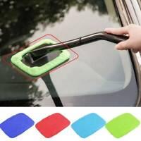 Windscreen Long Reach Microfiber Glass Cleaner Cloth Demister Pad Car Window HOT