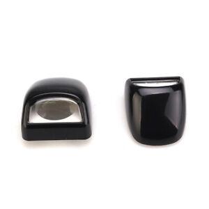 Black Rear Tag License Plate Light Lens Fits CHEVROLET SILVERADO GMC SIERRA 3500