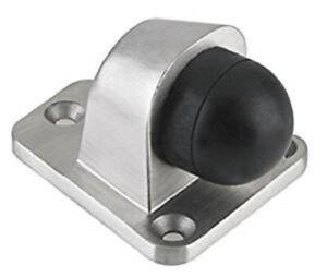 Door Stop Stainless Steel Heavy Duty 3 FIXING POINTS Floor Mounted Door Stopper