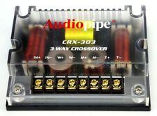 One Audiopipe 3 Way Passive Crossover Network CRX-303 300 Watt W