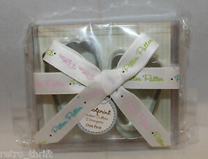"""New Kate Aspen 2010 Baby Footprint Cookie Cutters 5cm 2""""One Pair Pitter Patter"""