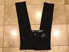 Mossimo jeans New with tags Mid rise, Straight,Super Stretch,Black Size 00/24/R