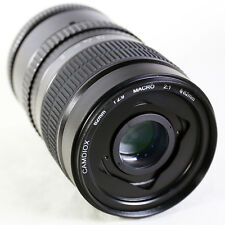 Camdiox 62mm 2:1 Ultra Macro Manual Focus Camera Lens for Sony E NEX A6300 A5000