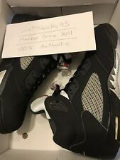 Brand New Retro 5 Metallic Black Jordan DS Nike Size 13