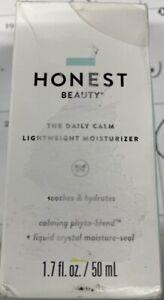 Honest Beauty The Daily Calm Lightweight Moisturizer Vegan Calms Redness 1.7oz‼️