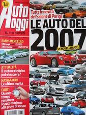 Auto Oggi n°39 2006 BMW 335i Coupè vs Mercedes CLK 350 C320  [P45]