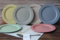 Greenandlife 10inch/6pcs Dishwasher & Microwave Safe Wheat Straw Dinner Plates