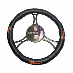 Football Chicago Bears Steering Wheel Cover Universal Fit 14.5''-15.5''