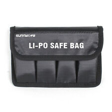 BLACK Lipo Battery Safe Bag Fire Resistant Storage Protector Case for DJI OSMO