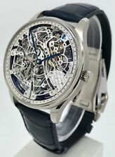 IWC IW524101 Portugieser Minute Repeater Skeleton 18K WG B&P Men's Manual Watch