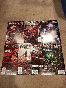 Wolverine 66 - 72 Old Man Logan Full Story 1st Print Mark Millar First App. VF