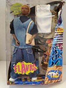 Flavas TRE African American doll w/ accessories Mattel 2003 NEW, NRFB