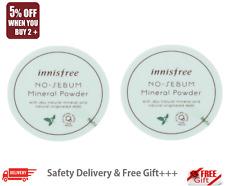 [Innisfree] No Sebum Mineral Powder - 5g 2pcs KOREA-Beauty