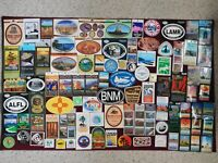 100+ DIFF NAT'L PARKS STICKERS - NEW - PERFECT COND - GRDCNYN BSCAYN YLO REDWD++