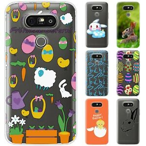 Dessana Oster Waterproof Rabbit TPU Silicone Protective Cover Phone Case For LG