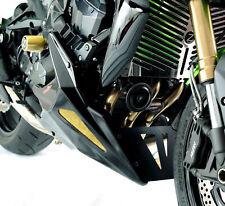 KAWASAKI Z750/Z750S/Z750R 11-12 / Z1000 07-09 Black-Gold Mesh Belly Pan - Powerb