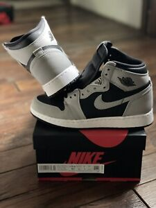 Nike Air Jordan 1 Retro High Shadow 2.0 (GS) Size 5.5Y 575441-035 IN HAND