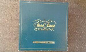 Vintage TRIVIAL PURSUIT Master Game Genus Edition