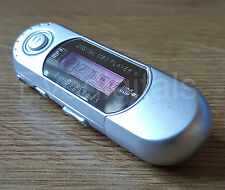 SILVER EVO 4GB MP3 WMA USB MUSIC PLAYER WITH LCD SCREEN FM RADIO VOICE RECORDER