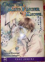 Only The Ring Finger Knows by Satoru Kannagi - June Yaoi Manga English