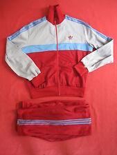 Survetement Adidas velour 80'S Trefoil Vintage Veste + Pantalon Ventex - 180 / L
