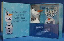 Disney Frozen Hide-and-hug Olaf Book & Plush Doll First Edition  NIB In Hand