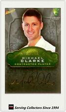 2009-10 Select Cricket Trading Cards Foil Signature FS4 Michael Clarke