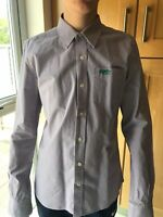 MENS  SUPERDRY LONG SLEEVED SHIRT SIZE LARGE  COTTON STRIPED