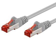 Intellinet Cavo di rete Patch in rame Cat. 6 Grigio SFTP LSZH 15m