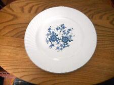 "Royal Blue Ironstone Wedgwood Vintage 10"" Dinner Plate"
