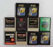 LOT OF 10 ATARI 2600 GAMES ~Venture, Mountain King, Enduro, Pac-Man, Donkey Kong
