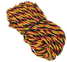 "Hitec Spektrum 22 AWG HD non interference servo wire 10 feet 120"" USA Seller"