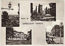 SALUTI DA CONEGLIANO VENETO - VEDUTINE (TREVISO) 1960