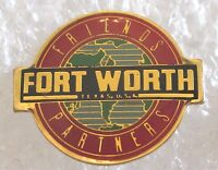 City of Fort Worth, Texas Travel Souvenir Collector Pin