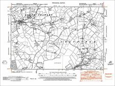 Cranfield (N), Bourne End, old map Bedfordshire 1951: 15SE