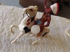 Vintage Hartland Plastics Co. Chief Thunderbird on warhorse