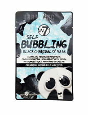 W7 Self Bubbling Black Charcoal O2 Face Mask Skin Care  Brand New 20g